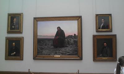 Нажмите на изображение для увеличения Название: Христос в пустыне.Третьяковская галерея.jpg Просмотров: 74 Размер:92.3 Кб ID:346