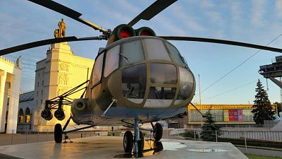 Нажмите на изображение для увеличения Название: Москва, ВВЦ 5 утра - вертолет.jpg Просмотров: 78 Размер:92.8 Кб ID:941